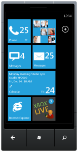 Theme Windows Mobile Home Screen