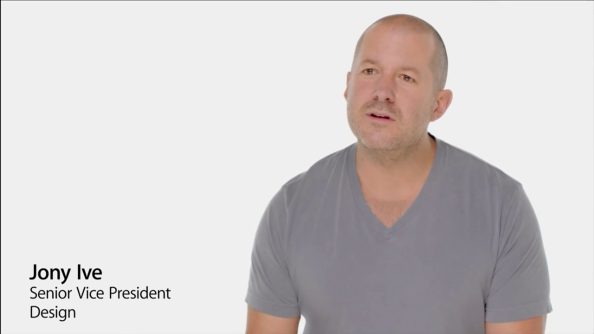 Jony Ive, iOS 7 introduction Video